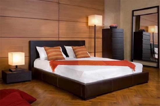 Camera da letto lecce, i diversi rivestimenti murari
