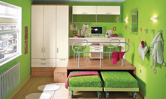 Camerette a lecce i colori giusti per le pareti - Pareti colorate per camerette ...