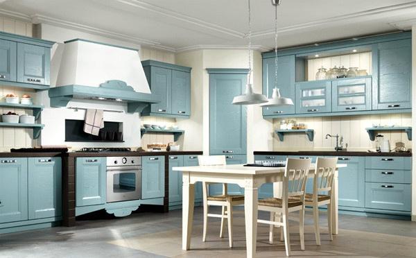 Cucina classica lecce il tavolo adatto per i molteplici - Arredo cucina classica ...