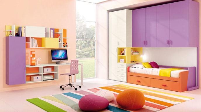Camerette bambini a lecce le camere ferrimobili - Mobili per bambini design ...