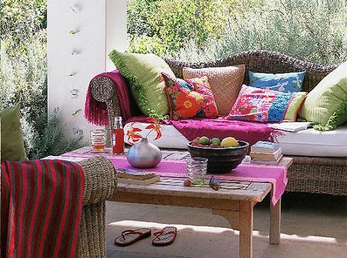 I cuscini da giardino per sedie sdraio chaise long - Cuscini per poltrone da giardino ...