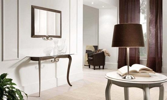 Come completare l 39 arredo grazie alla presenza di uno specchio for Consolle arredamento moderno