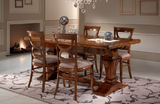 tavolo legno allungabile