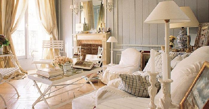 Lo stile d 39 arredamento shabby chic originale e senza tempo - Casa shabby chic country ...