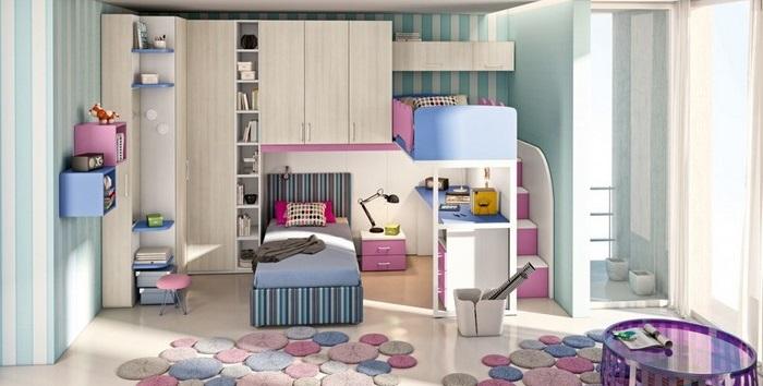 Letti A Castello Per Bambini Economici : La cameretta dei bambini: consigli per la scelta del letto a castello