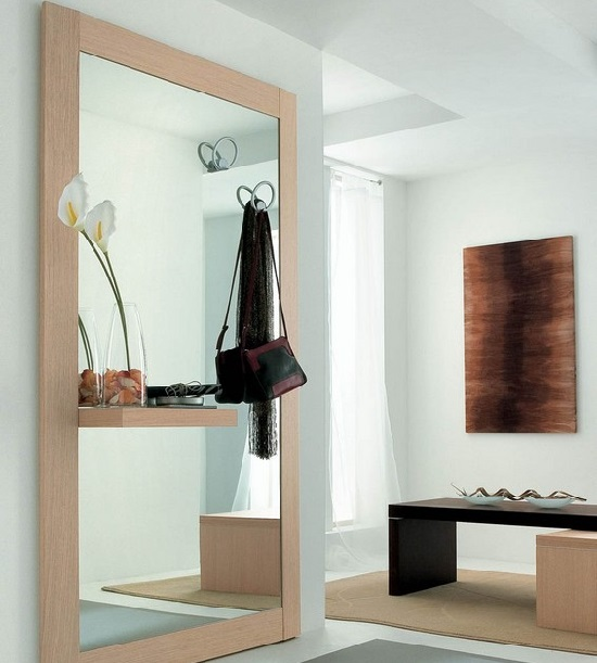 Idee per dividere ingresso e soggiorno contemporaneo - Idee per ingressi casa ...