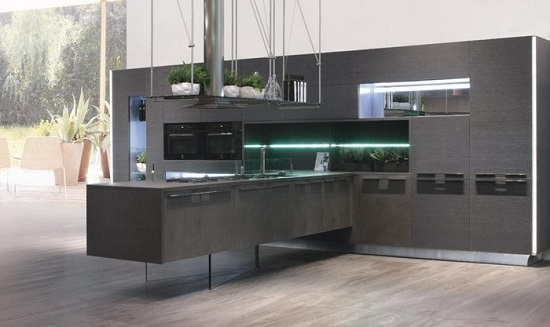 Beautiful Cucine Moderne Scure Images - Milbank.us - milbank.us