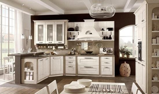 Cucina stile nordico arredamento lecce for Stile casa classica