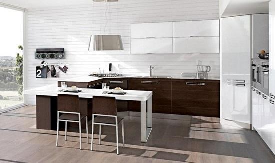 Guida alla scelta consapevole della cucina con isola o penisola - Cocinas modernas italianas ...