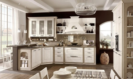 Lovely Cucina Piccola Classica