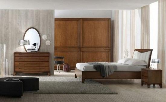 stile contemporaneo camera da letto