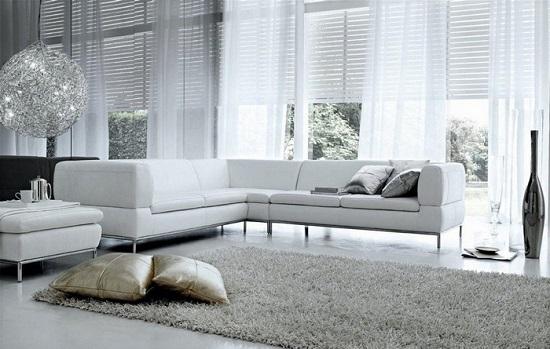 Idee per arredare il salotto moderno con stile a lecce e for Foto di salotti arredati moderni