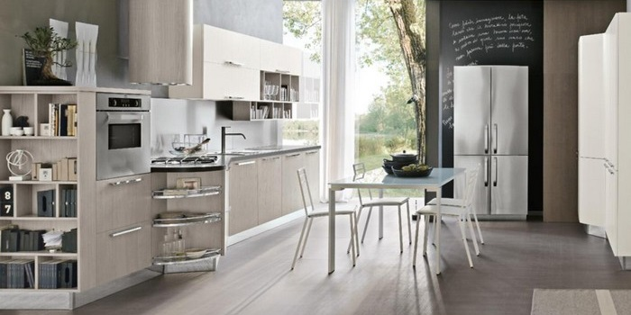 Idee per arredare una cucina piccola, senza rinunciare a ...
