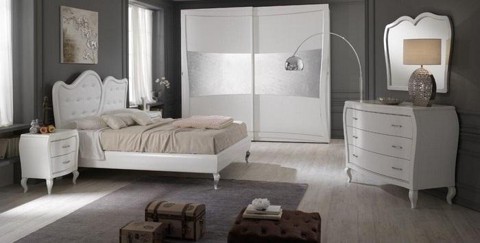 Come scegliere la camera da letto in stile contemporaneo - Camera da letto contemporanea bianca ...