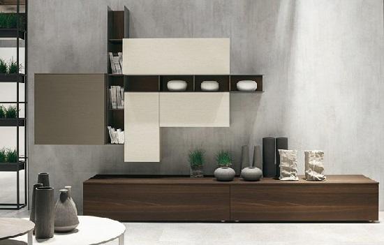 Scegliere la parete attrezzata in stile moderno. Idee e consigli