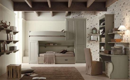 Come scegliere la cameretta in una casa dallo stile - Gran casa camerette ...