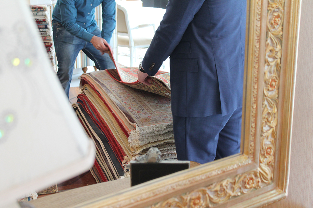 Mercante tappeti