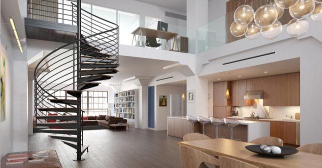 Idee per arredare loft e open space moderni arredamento for Arredare un loft