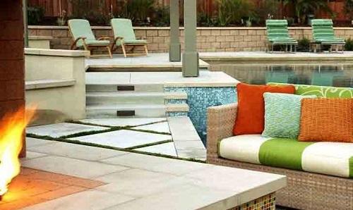 cuscini per giardini