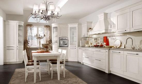 cucina bianca lecce