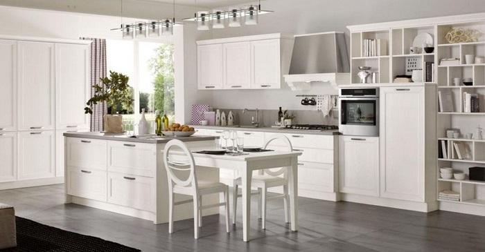 idee da copiare per scegliere e arredare una cucina bianca