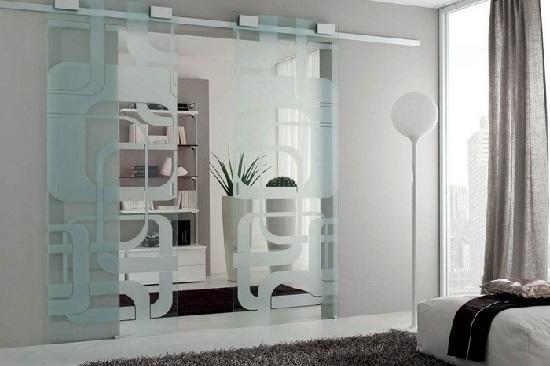 porta scorrevole in vetro Lecce