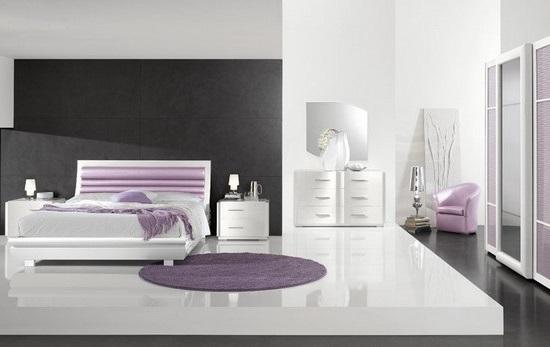 camera letto viola lecce