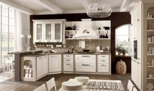 cucina piccola classica