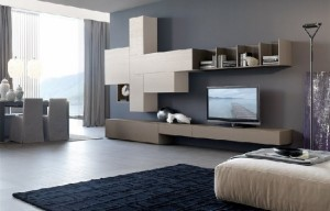 parete living moderno