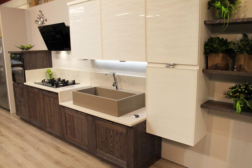 cucina a parete nuova